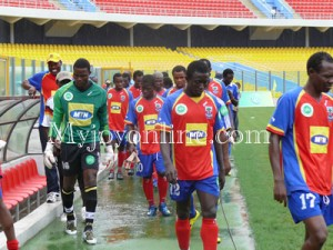 Relegated Great Olympics thrash Hearts of Oak 5-1