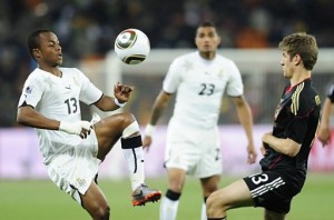 How Ghana players performed in the World Cup clash with Germany