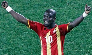 Didn't he used to be rubbish? Stephen Appiah of Ghana