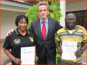 Two Ghanaian coaches excel in Germany