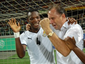 Ghana coach snubs Serbia's last-minute attempt