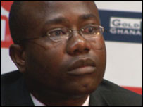 Ghana FA boss lashes out at corruption claims