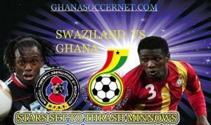 FT: Swaziland 0-3 Ghana
