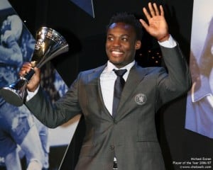 Nigerian Odemwingie beats Essien to English award