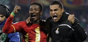 Video: Watch a video of an interview with Asamoah Gyan and John Mensah