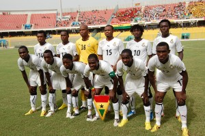 Ghana's CHAN squad line up Tusker FC friendly