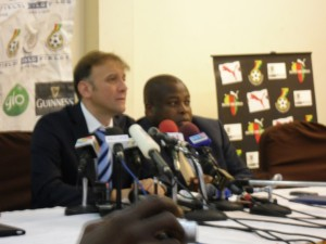 Pictures: Scenes from unveiling ceremony of new Black Stars coach