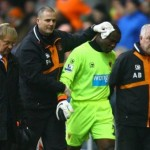 Blackpool and Ghana goalkeeper Richard Kingson suffers injury