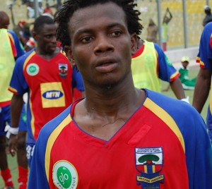 Obed Ansah not keen to extend Hearts stay