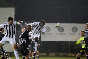 Video: Prince Tagoe scores in Partizan debut, Dominic Adiyiah excels
