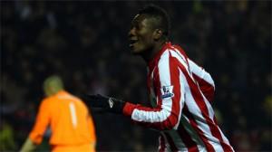 Asamoah Gyan okays new Sunderland kit