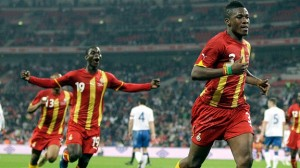 Asamoah Gyan clinical leveller helps Ghana hold England at Wembley