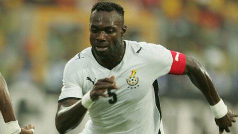 Nyaho Tamakloe wants John Mensah confirmed as Ghana captain