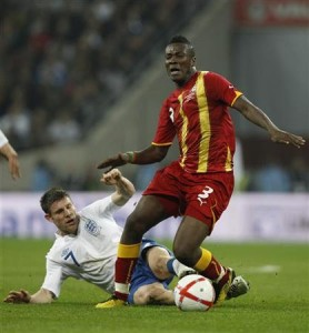 Video: Gyan shocked by wonder goal against England, disappointed he couldn't dance