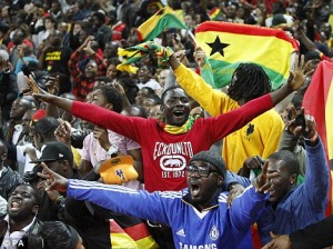 Ghana supporters group wants English FA action over Cole immigration joke