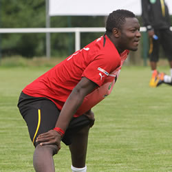 Muntari boost for Ghana ahead of Congo clash