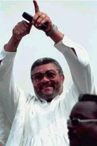 Ex-Ghana president Rawlings visits Black Stars in Kenya