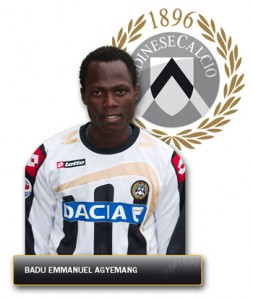 Agyeman-Badu backs Udinese for Europe place