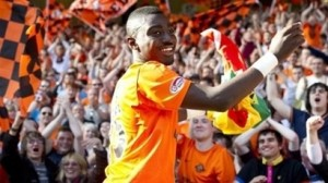 Dundee's Prince Buaben wanted by clubs