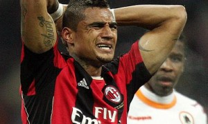 Video: Watch Kevin Boateng in top shape in AC Milan-Inter clash