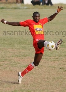 Kotoko's Awal Mohammed winning fitness battle