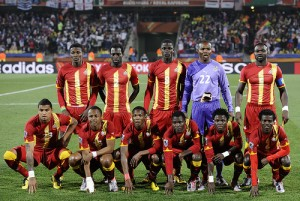 Ghana takes heavy tumble in latest Fifa ranking