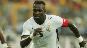 Knock forces Mensah out of South Korea game