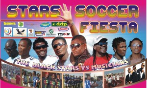 Ghana FA sanctions Black Stars-Musicians charity match