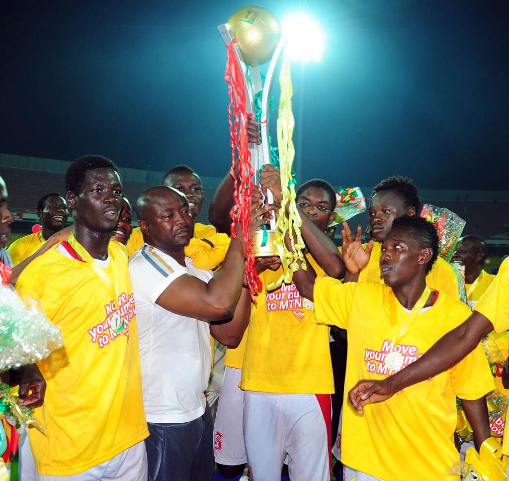 Abedi Pele's Nania stun  giants Kotoko to win Ghana FA Cup