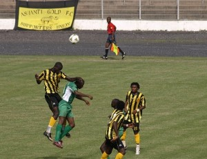 AshGold quartet in South Africa for trials