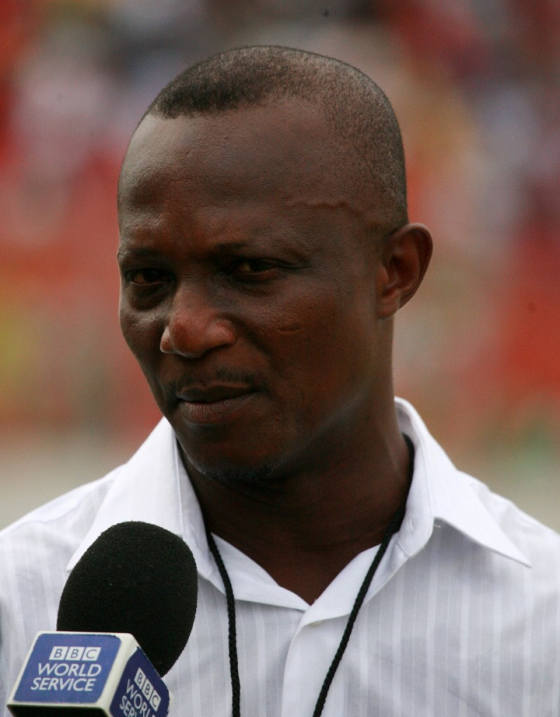 Akwasi Appiah makes case for local coaches