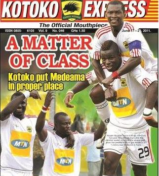 Kotoko defeat Wa All Stars to reach FA Cup final