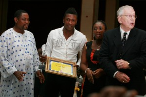 Asamoah Gyan named Sports Writers Personality of the Year