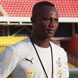 Ghana U23 coach under no pressure ahead of Nigeria clash
