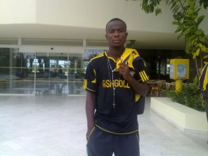Medeama land midfielder Anoba from AshantiGold
