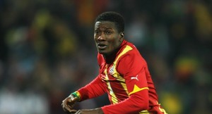 Asamoah Gyan eyes Nigeria scalp in next month's friendly
