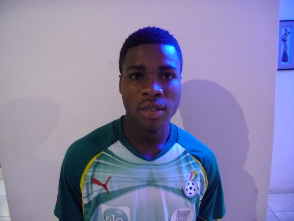 New Kotoko signing Adjei itching to get started