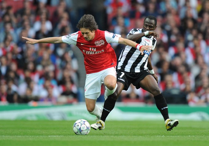 Arsenal comeback edges out Ghanaian duo from Champions League