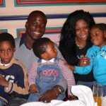 Ex-Ghana captain Stephen Appiah tips two sons to take after him