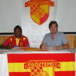Pictures: Bismark Idan signs for Goztepe