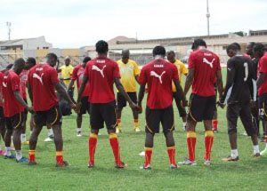 Black Stars pitch camp on August 7 for Nigeria friendly