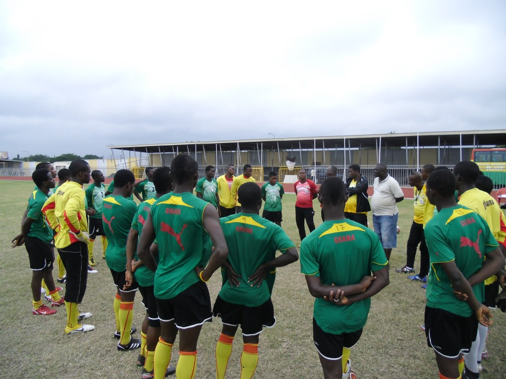 Ghana U-23 coach picks locals for All African Games