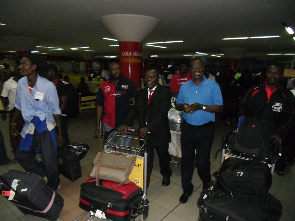 Pictures: Kotoko's arrival from Serbia training tour