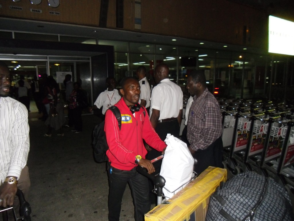 Pictures: Kotoko arrival from Serbia training tour