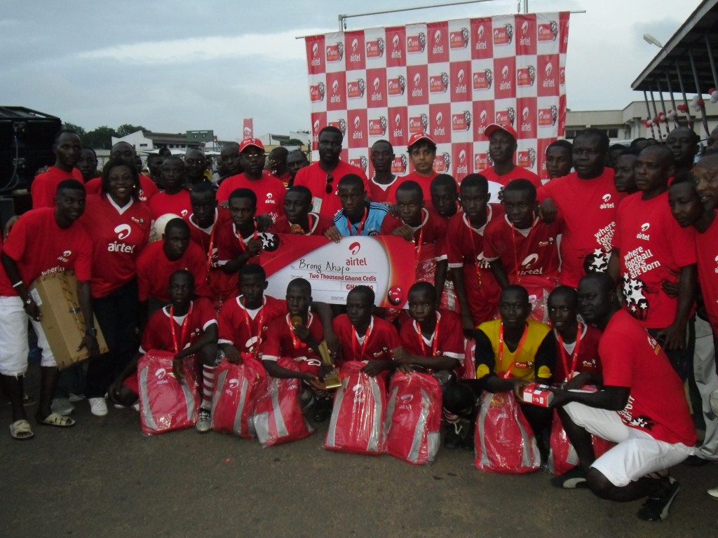 Brong Ahafo crowned national juvenile champions