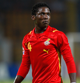 Daniel Opare settled as Ghana left-back