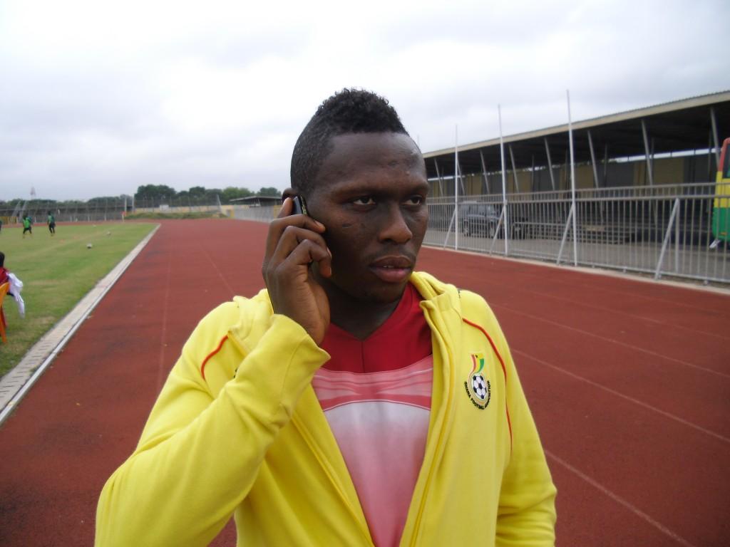 Striker Gilbert Fiamenyo coy on future