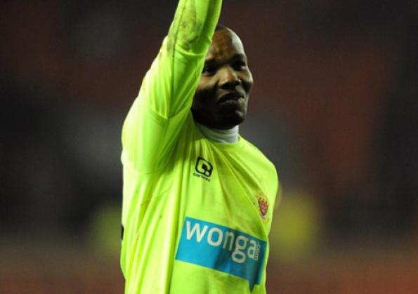 Goalie Kingson chasing 90th Ghana cap