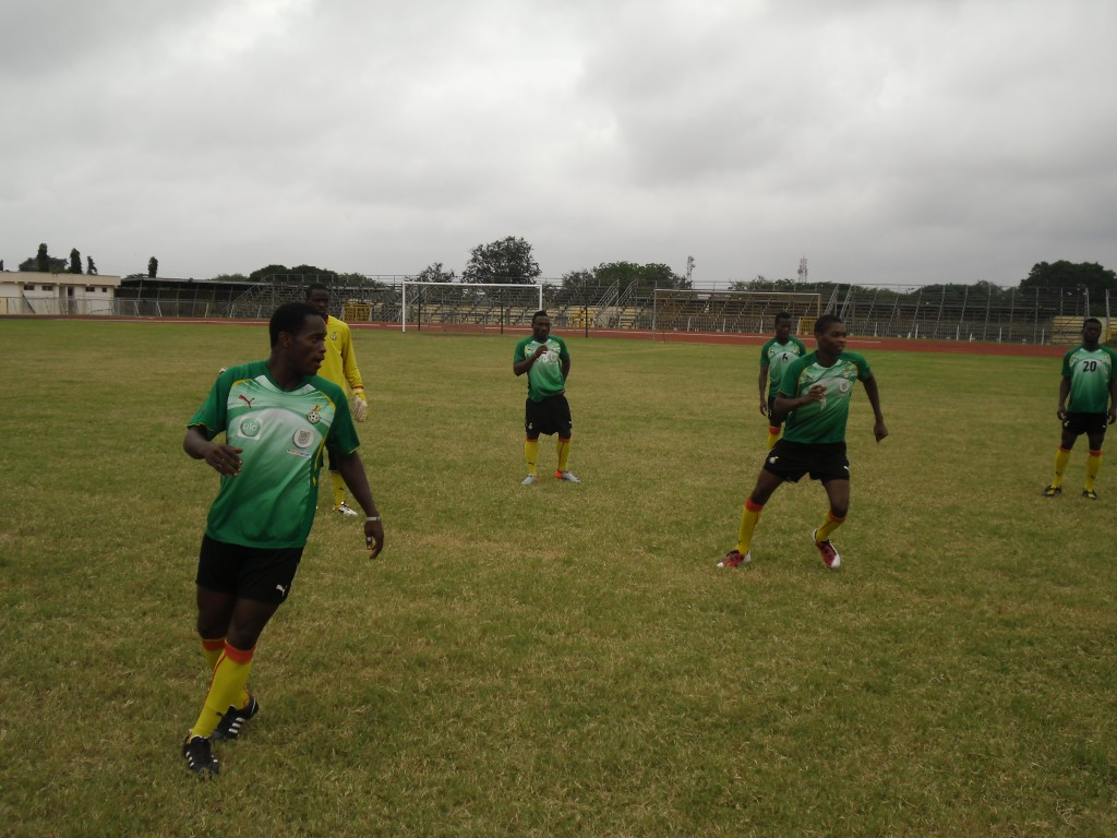 Ghana U23 to camp in SA for AAG
