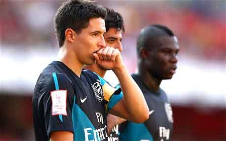 Frimpong tags departed Nasri as greedy